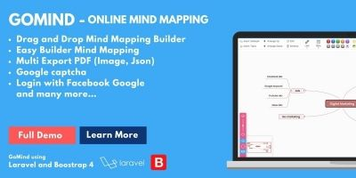 Gomind - Mind Mapping Online PHP