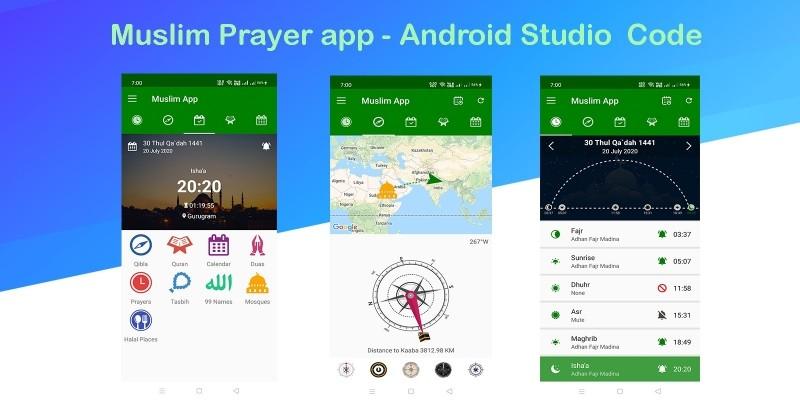 Muslim Prayertime - Android Studio Code