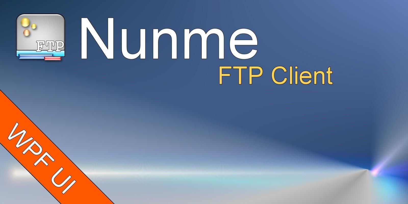 Nunme - FTP Client .NET