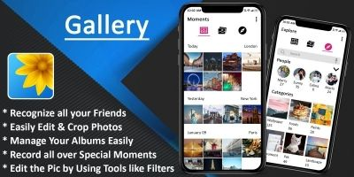 Gallery - Photo And Video Android App Template