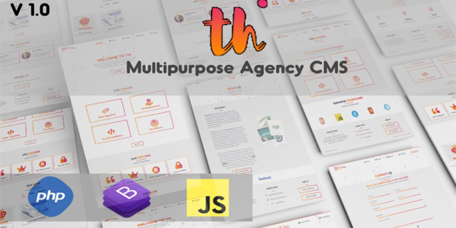 TH-Corporate Multipurpose Agency CMS