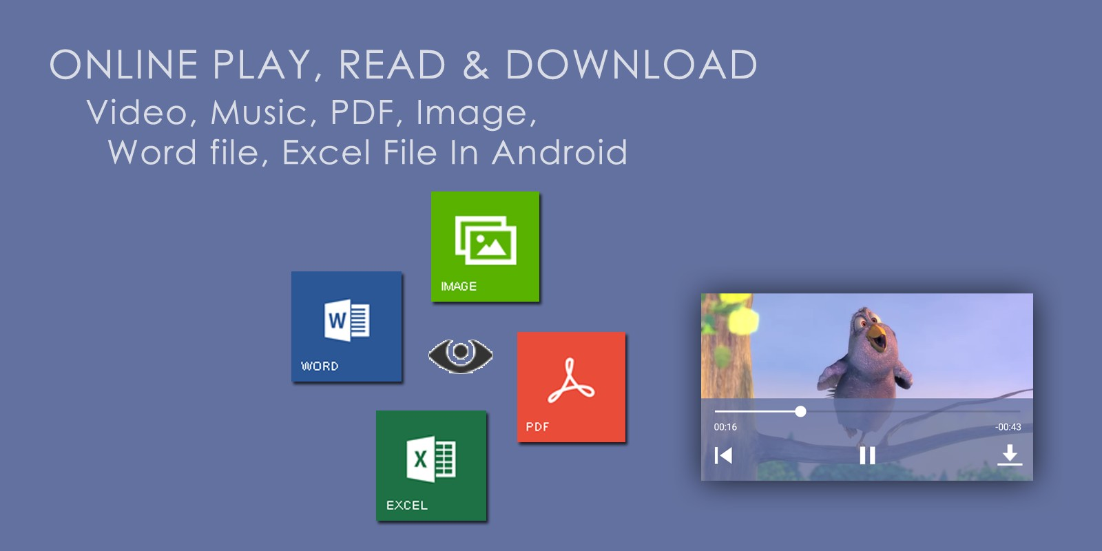 Music Player PDF Word Excel Android Source Code