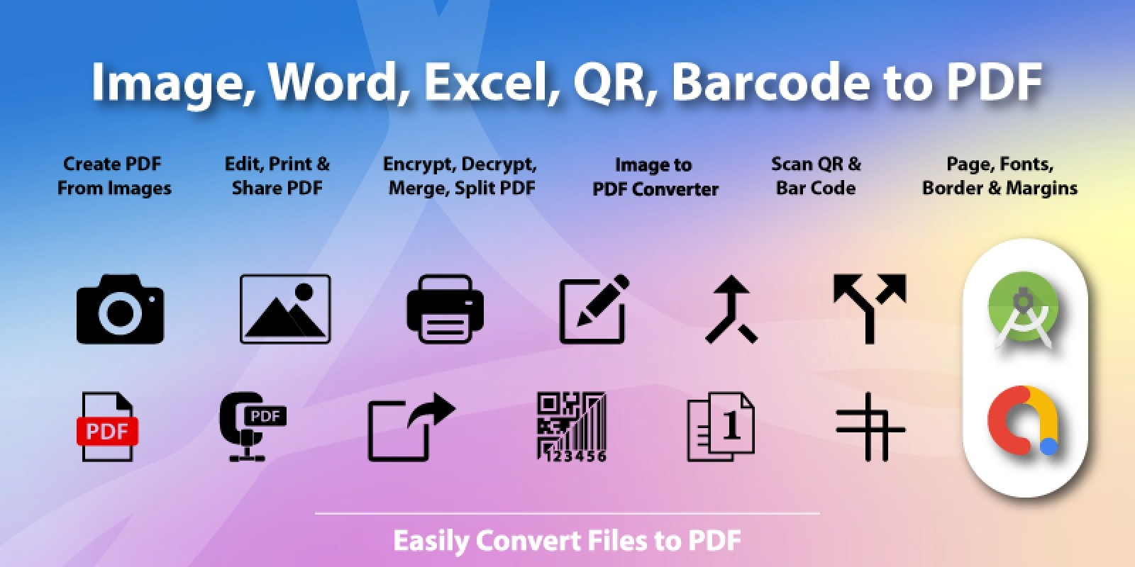 Image to PDF Converter - Android App Template