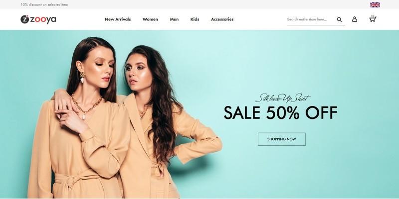Zooya - eCommerce HTML Theme