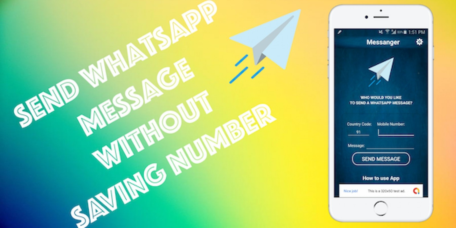Quick Messenger - Android App Template