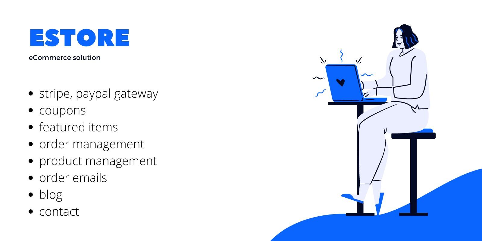 EStore - Single Vendor eCommerce Script