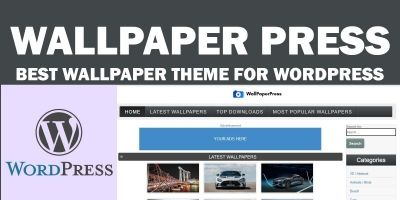 WallpaperPress - Wallpaper theme for WordPress