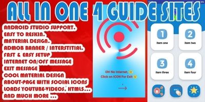 All In One  4 guide Sites - Android Source Code