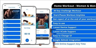Home Workout - iOS App Template