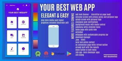 Webview Web App - Android Source Code