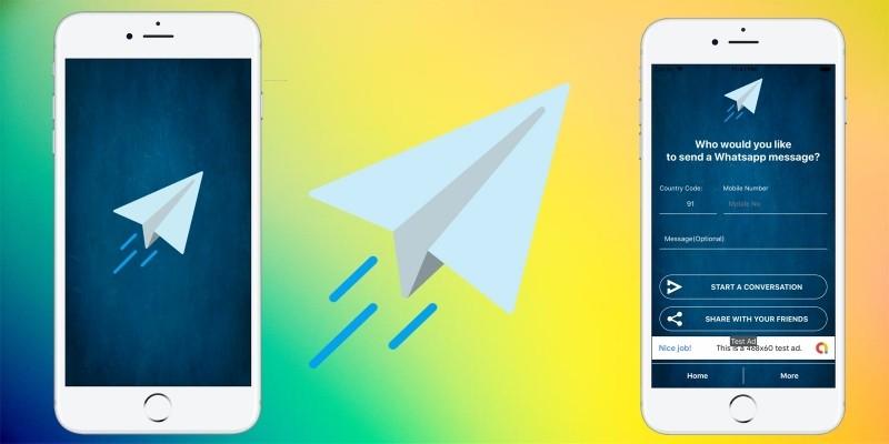 Quick Messenger - iOS App SWIFT 5