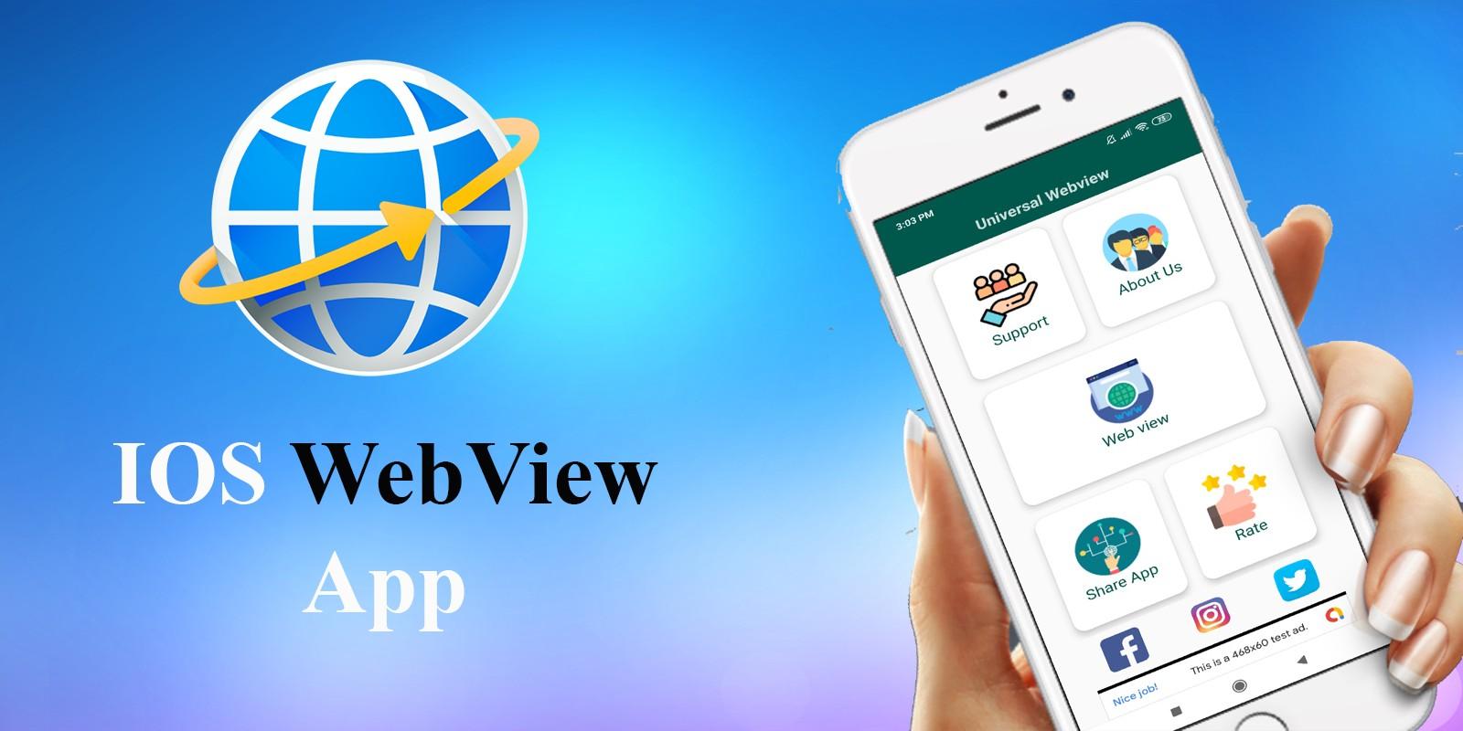 iOS Web View App Template