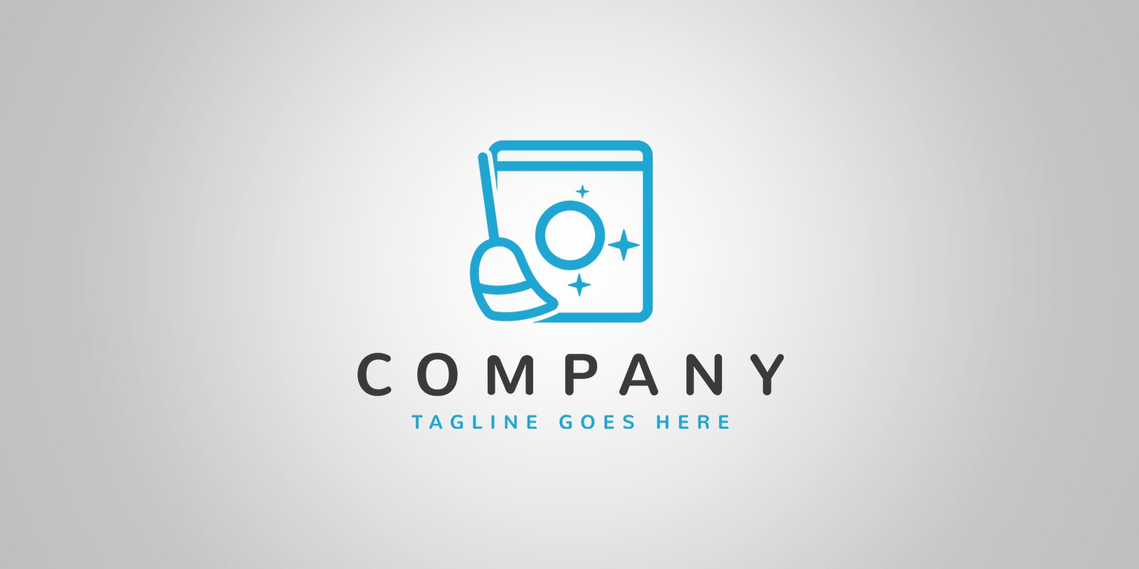 Laundry and Cleaning Logo Template