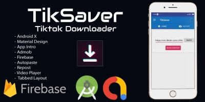 TikSaver - TikTok Video Downloader Android