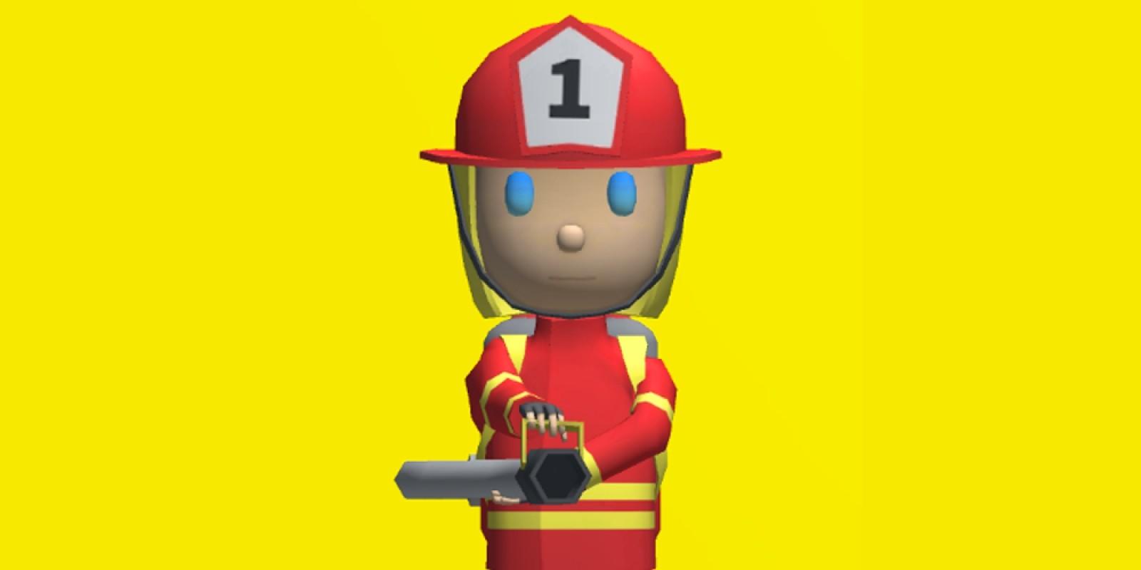 Fireman 3D Unity Source Code