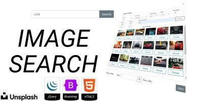 Unsplash Image Search JavaScript