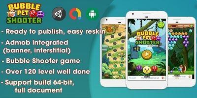 Bubble Shooter Pet - Unity Complete Project