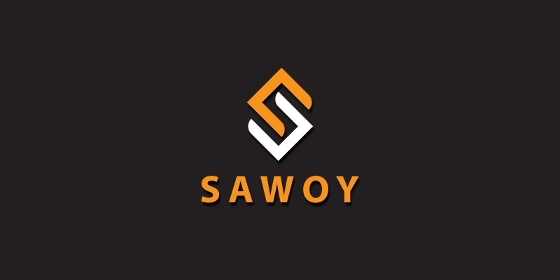 Sawoy Letter S Logo