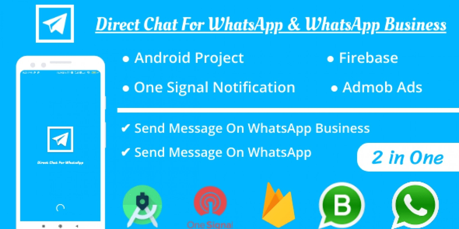 Send Direct Message On WhatsApp Android App
