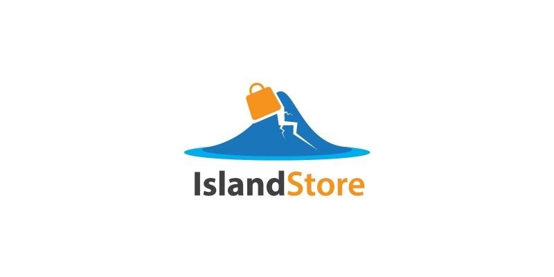 Island Online Store Logo
