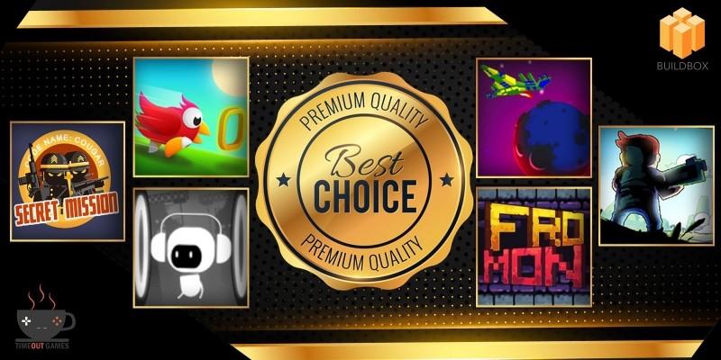 6 Premium Buildbox Games