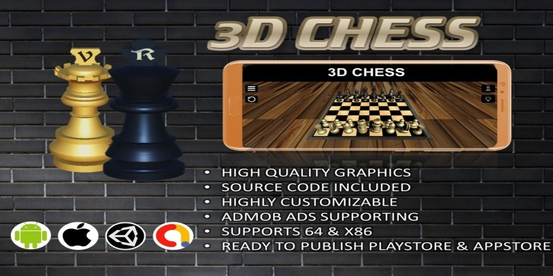 3D Chess Complete Unity Project