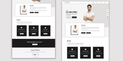 Responsive Personal Portfolio Website Using HTML