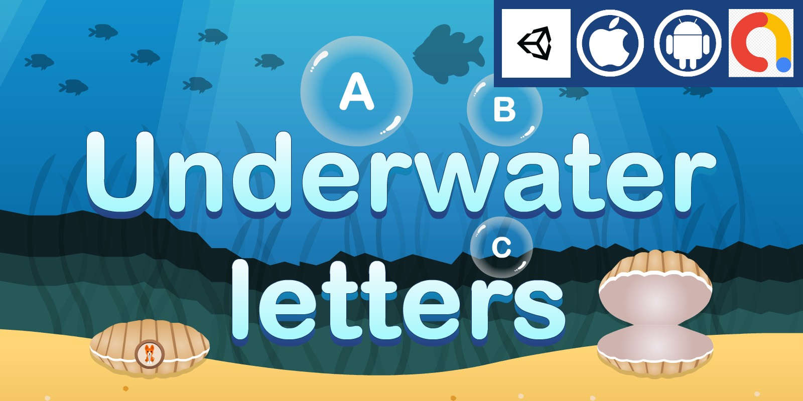 Underwater Letters - Unity Source Code