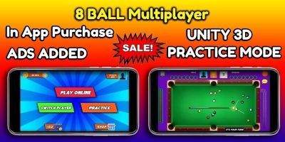 8 Ball Multiplayer Unity Source Code With Admob