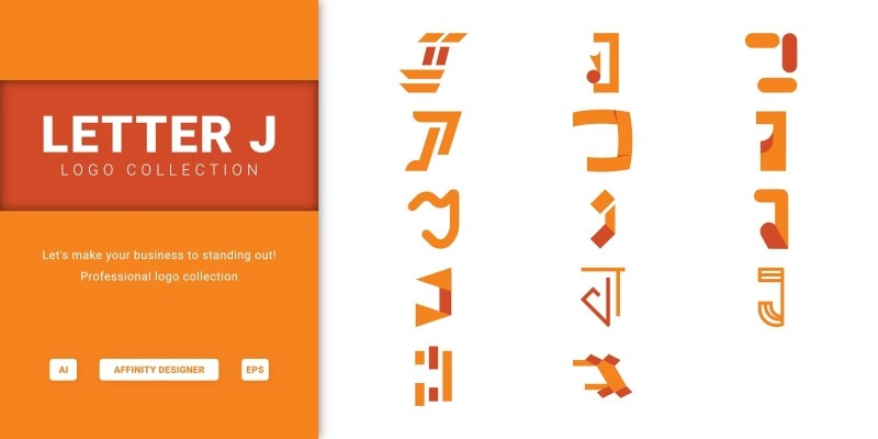 Letter J - Logo Collection