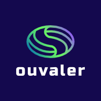 Oval Line Shape Logo