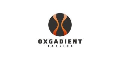Round Gradient - Logo
