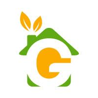 Letter G Gardener Logo Design