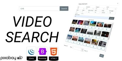Pixabay Video Search