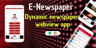 E-News - Android Webview App Source Code