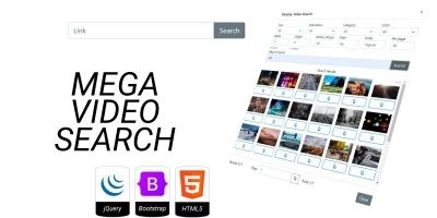 Mega Video Search