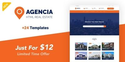 Agencia - Real Estate Template