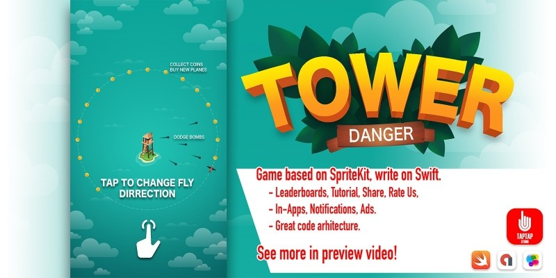 Danger Tower - iOS App Source Code
