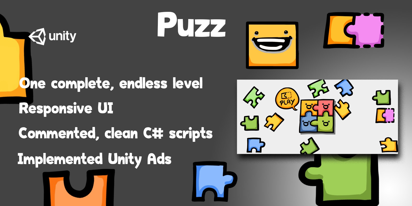 Puzz - Complete Unity Game