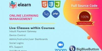 eLearn - Online Learning Management System
