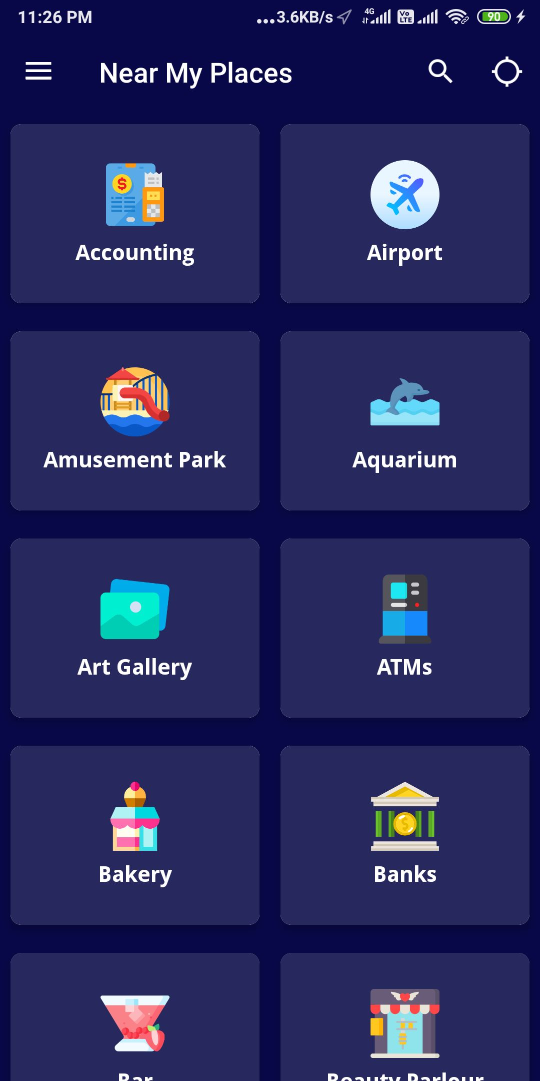 Near My Places - Android App with Admob by Samarth4   Codester