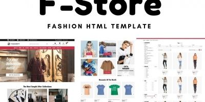 F-Store HTML Template