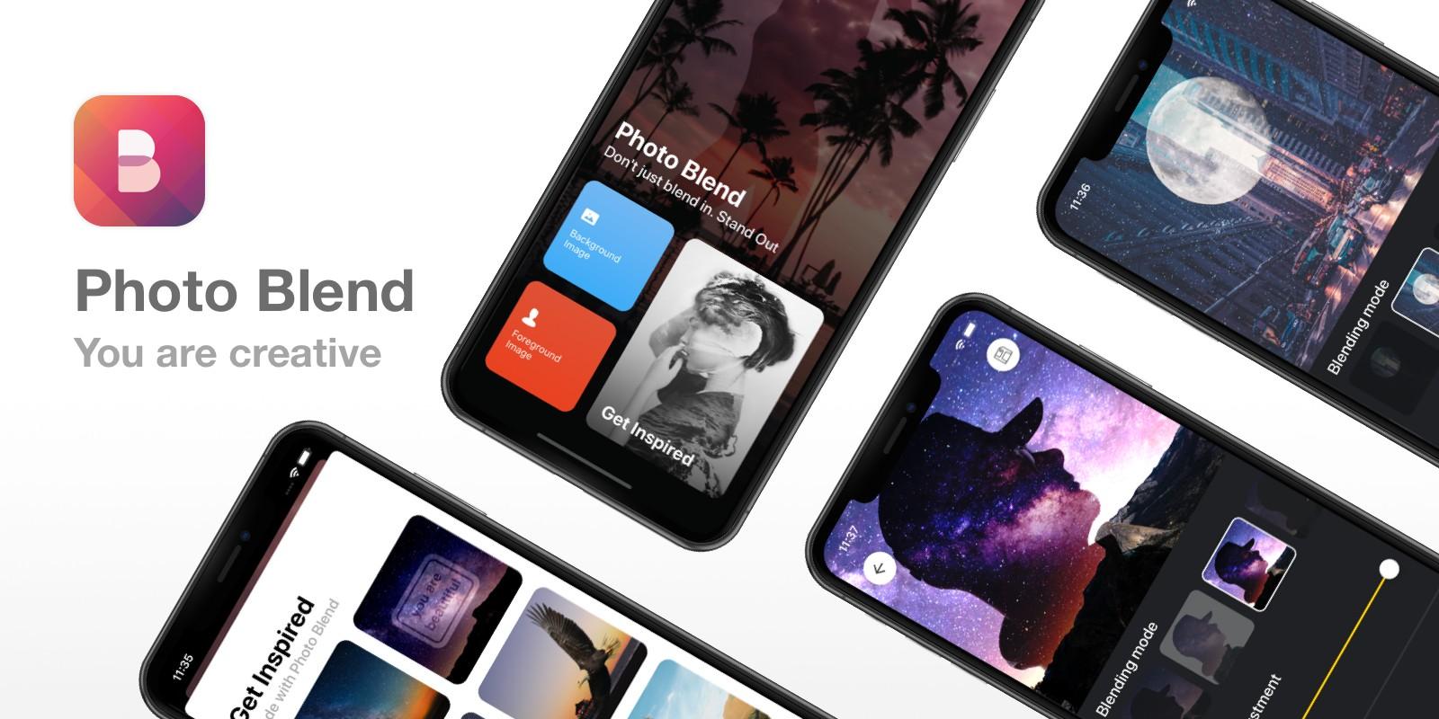 Photo Blend - iOS App Template