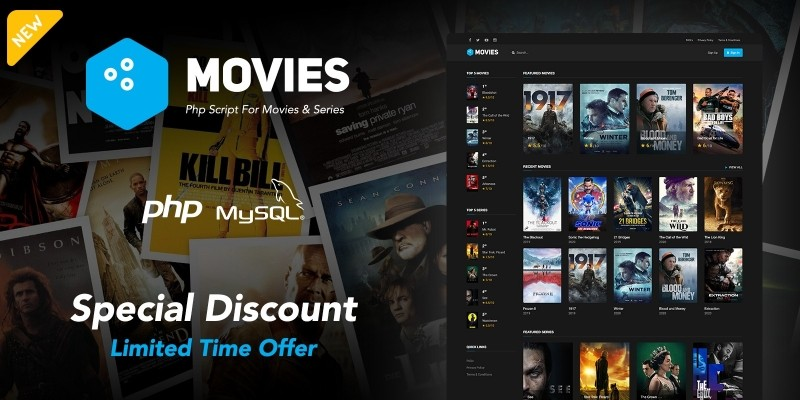Movies - PHP Script For Movies And Series