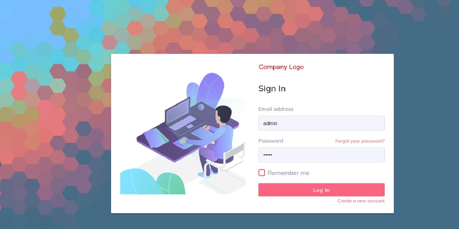 Login Logout Register Forget Password CRUD System