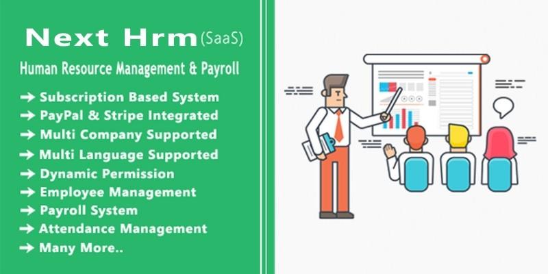 Original HRM SaaS - HR And Payroll System