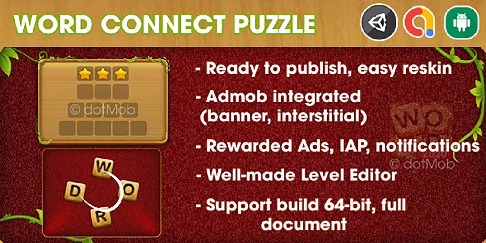 Word Connect Puzzle - Unity Template Game