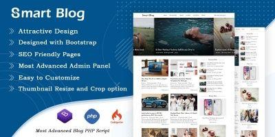 Smart Blog - Blog PHP Script