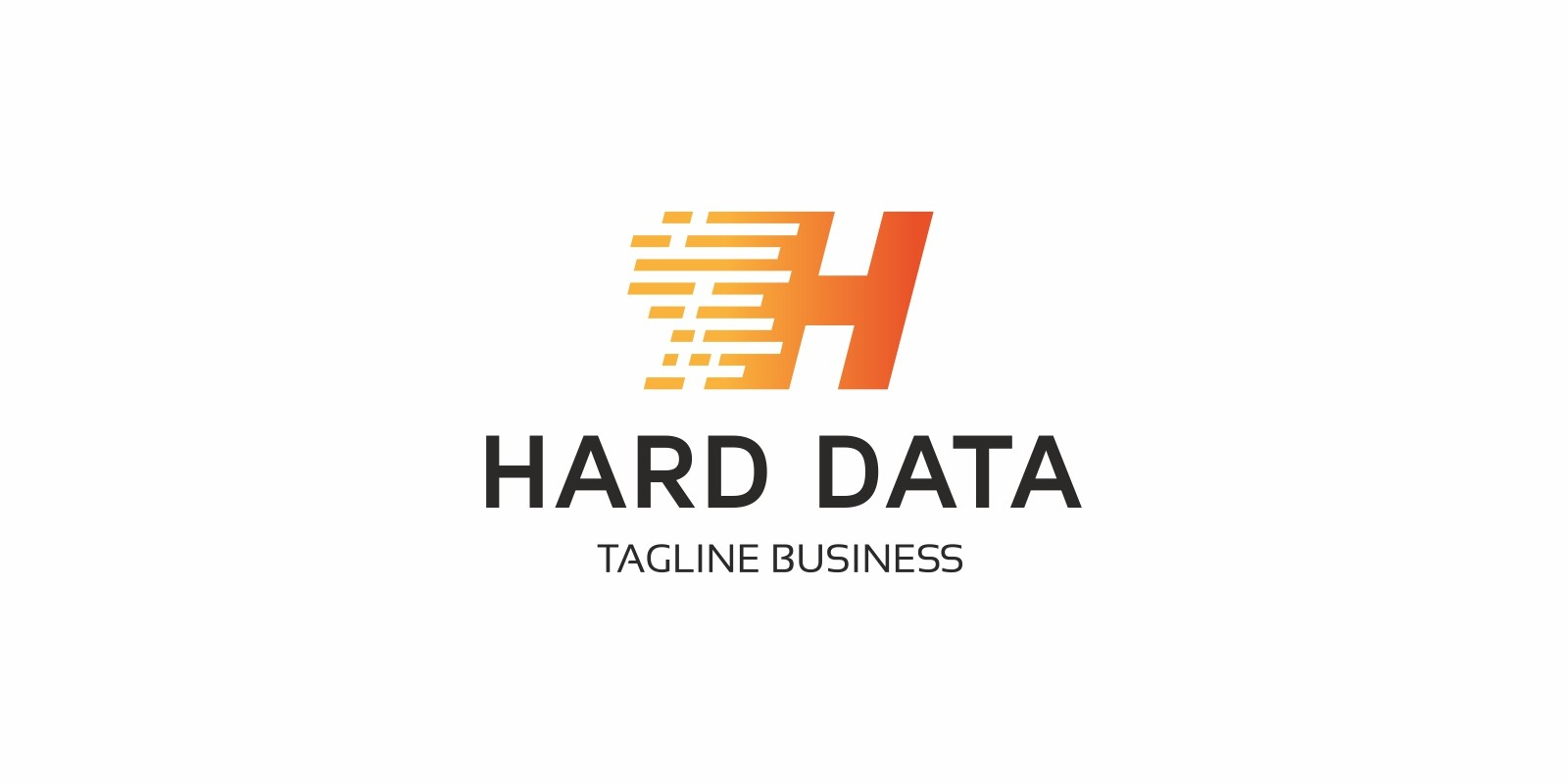 Hard Data H Letter Logo