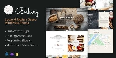Bakery - Luxury Gastro WordPress Theme